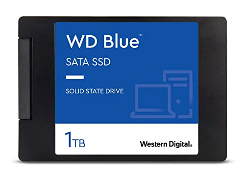 WD Blue 3D NAND Internal SSD 2.5 Inch SATA - 1 TB from Western Digital