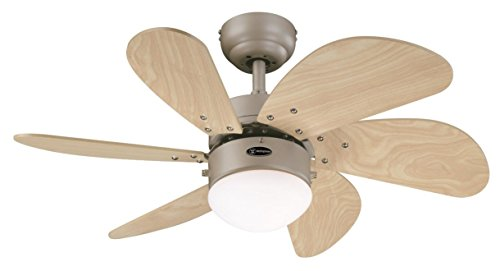 Westinghouse Turbo Swirl Ceiling Fan - Titanium from Westinghouse