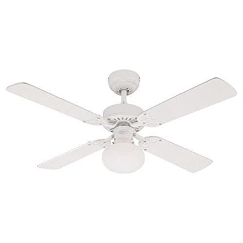 Westinghouse Vegas Ceiling Fan - White/Washed Pine from Westinghouse
