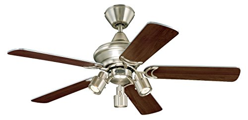 Westinghouse Kingston Ceiling Fan with LED Compatible - Brushed Aluminium from Westinghouse