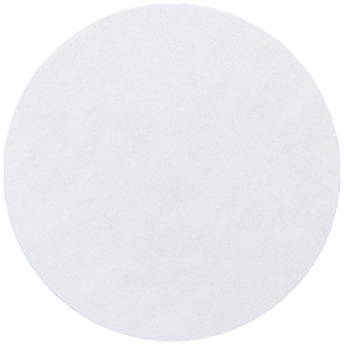 Whatman 4712B30PK 1001110 Grade 1 Qualitative Filter Paper, 110 mm Thick and Max Volume 571 ml/m (Pack of 100) from GE Healthcare