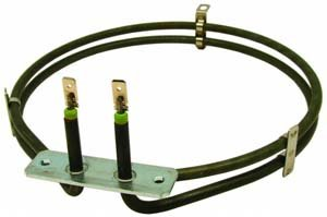 Whirlpool TRA801/WH 854181315010 2000 Watt Circular Fan Oven Element from Whirlpool