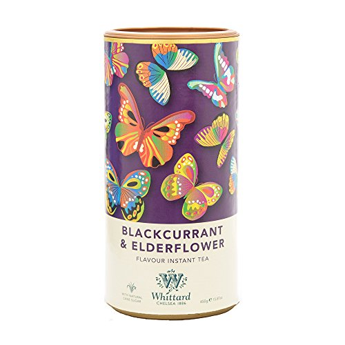 Whittard Blackcurrant & Elderflower Flavour Instant Tea 450g from Whittard