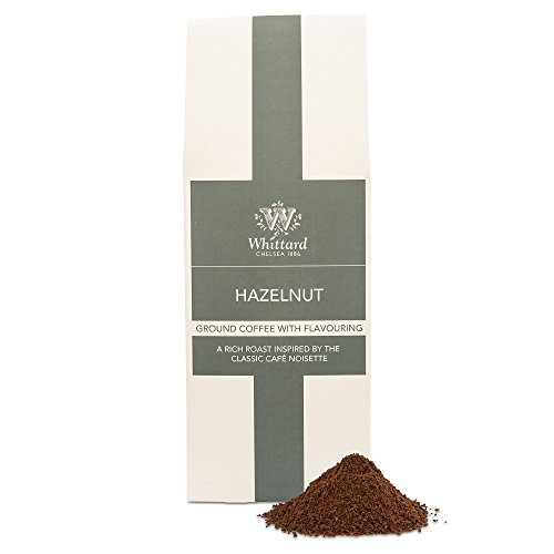 Whittard Hazelnut Flavour Ground Coffee 200g from Whittard