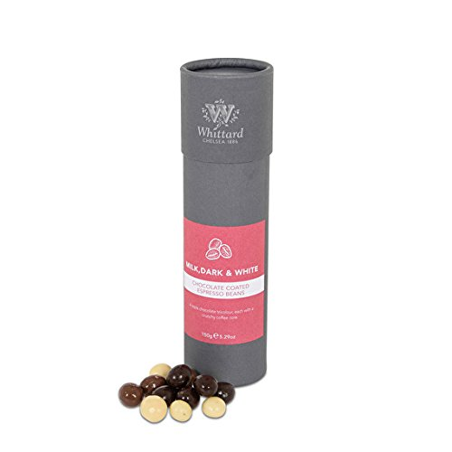 Whittard Milk, Dark & White Chocolate Espresso Beans 150g from Whittard