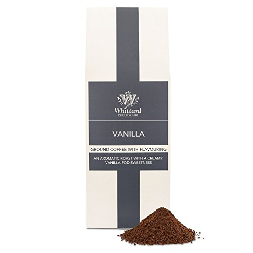 Whittard Vanilla Flavour Ground Coffee 200g from Whittard