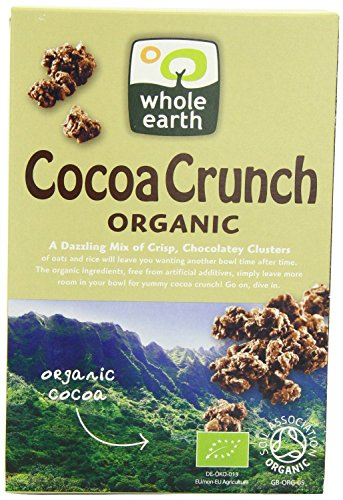 (6 PACK) - Whole Earth - Organic Cocoa Crunch | 375g | 6 PACK BUNDLE from Whole Earth