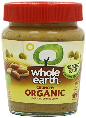 (6 PACK) - Whole Earth - Organic Crunchy Peanut Butter | 227g | 6 PACK BUNDLE from Whole Earth