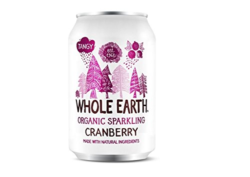 Whole Earth | Mountain Cranberry - Organic | 21 x 330ml from Whole Earth