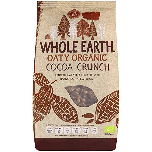 Whole Earth Organic Cocoa Crunch 375 g (Pack of 3) from Whole Earth