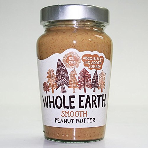 Whole Earth | Peanut Butter -smooth original | 3 x 340g from Whole Earth