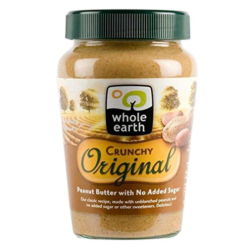 Whole Earth | Peanut Butter-crunchy original | 2 x 340g from Whole Earth