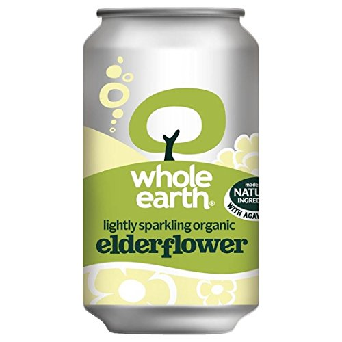 Whole Earth | Sparkling Elderflower - og | 5 x 330ml from Whole Earth