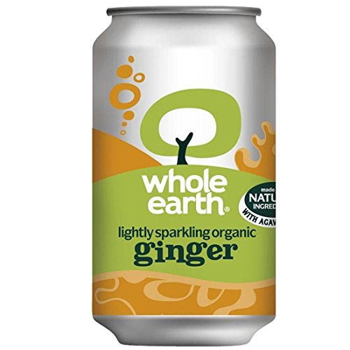 Whole Earth | Sparkling Ginger - og | 8 x 330ml from Whole Earth