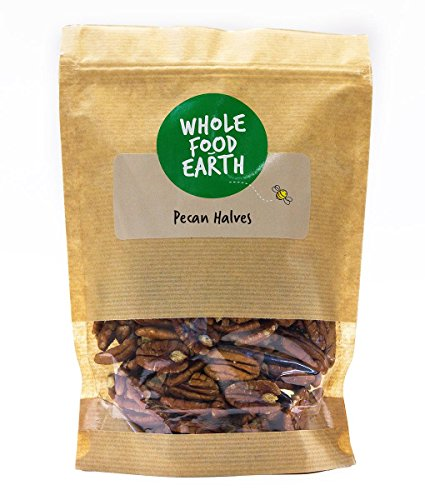 Wholefood Earth Pecan Halves, 1 kg from Wholefood Earth