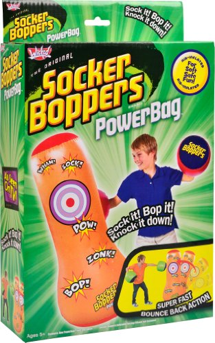 Wicked Socker Boppers Powerbag Inflatable Boxing Bag (Orange) from Wicked Vision Ltd