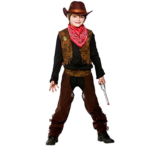 Wild West Cowboy - Kids Costume 8 - 10 years from Wicked Costumes