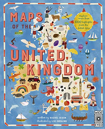 Maps of the United Kingdom from Wide Eyed Editions