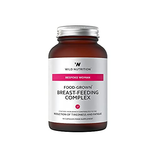 Wild Nutrition Food Grown Breast Feeding Complex 90 Capsules from Wild Nutrition