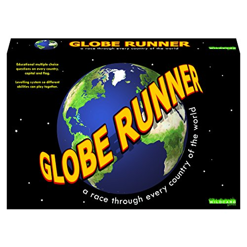 GLOBE RUNNER - A race through every country of the world game from Wildcard Games
