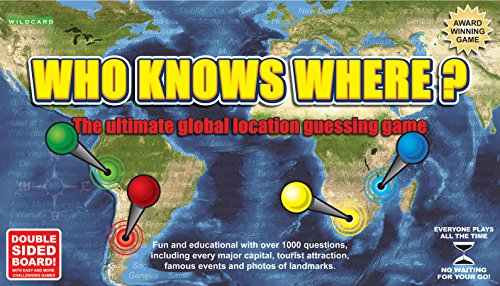 Who Knows Where? - The Global Location Guessing Board Game from Wildcard Games