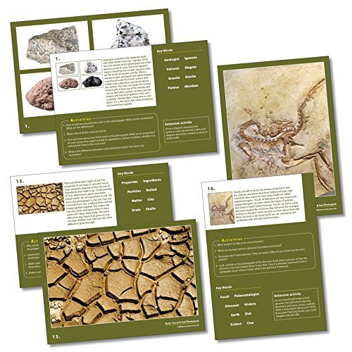 Wildgoose Education SC1135 Rocks, Soil and Fossils Photo (Pack of 20) from Wildgoose Education