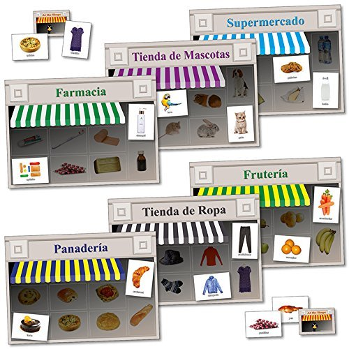 Wildgoose Education SP2223 Spanish Shopping Game from Wildgoose Education