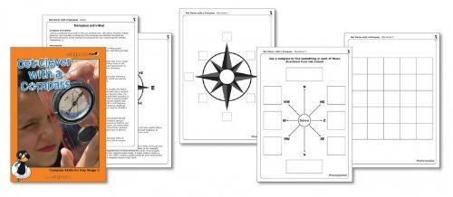 Wildgoose Education WG1521 Get Clever with a Compass Booklet from Wildgoose Education