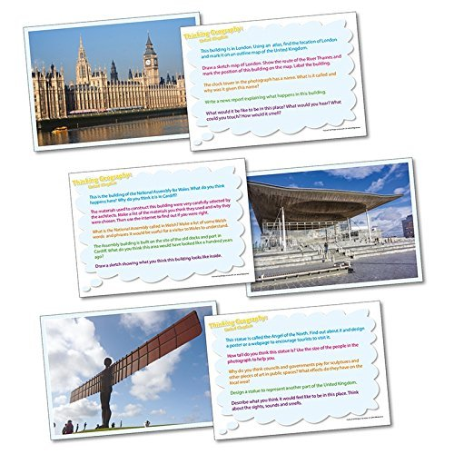 Wildgoose Education WG2823 Thinking.Geography-The UK Card (Pack of 20) from Wildgoose Education