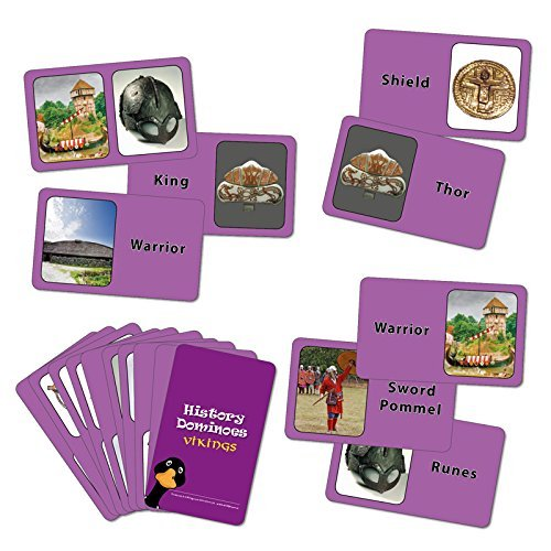 Wildgoose Education WG7501 Viking Dominoes Card Game (Pack of 36) from Wildgoose Education