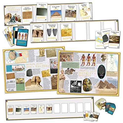 Wildgoose Education WG7714 Ancient Egypt Interactive Timeline Game from Wildgoose Education
