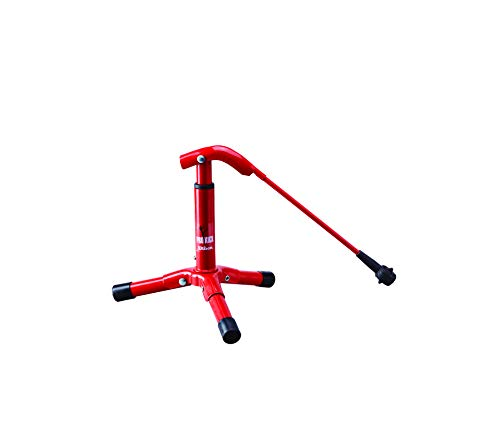 Wilson Pro-Kick Football Holder, Foldable, Metal for Standard Size Balls, Red, WTF9913 from Wilson
