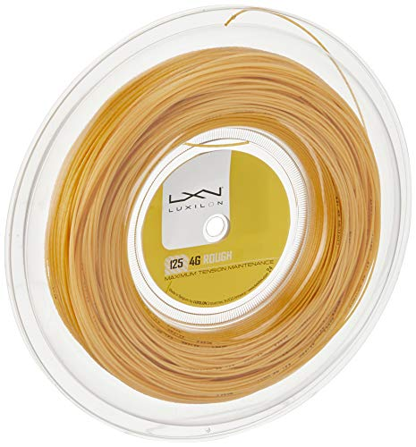 Wilson 4G Rough String Luxilon Reel - Gold/Gold, 200 m from Wilson