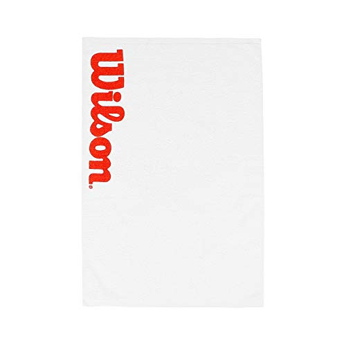 Wilson Sports Towel, Sport Court, White/Red from Wilson