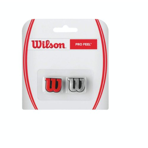 Wilson Pro Feel-Silver/Red from Wilson