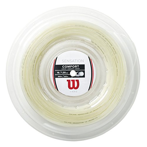 WILSON Unisex's Sensation String Reel-Transparent/Natural, Size 15L/200 m from WILSON