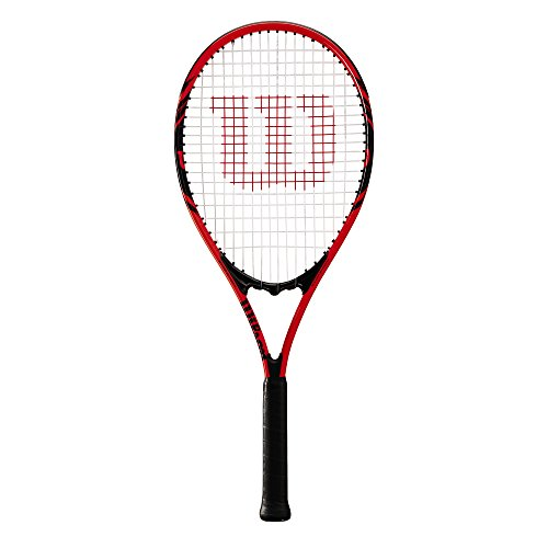 Wilson Tennis Racket, Federer, Unisex, Beginners and Intermediate Players, Grip Size L2, Red/Black, WRT30480U2 from Wilson