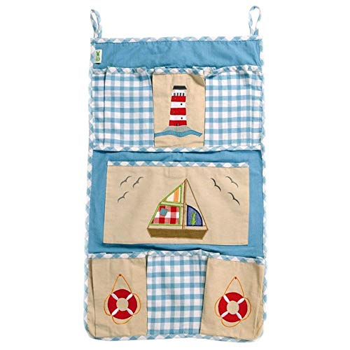 Win Green Beach House Organiser, Natural/Sky Blue from Win Green