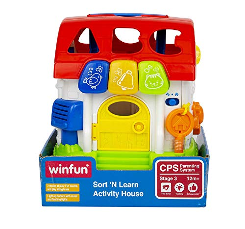 WinFun – House of Game with Light & Sound (colorbaby 44525) from WinFun