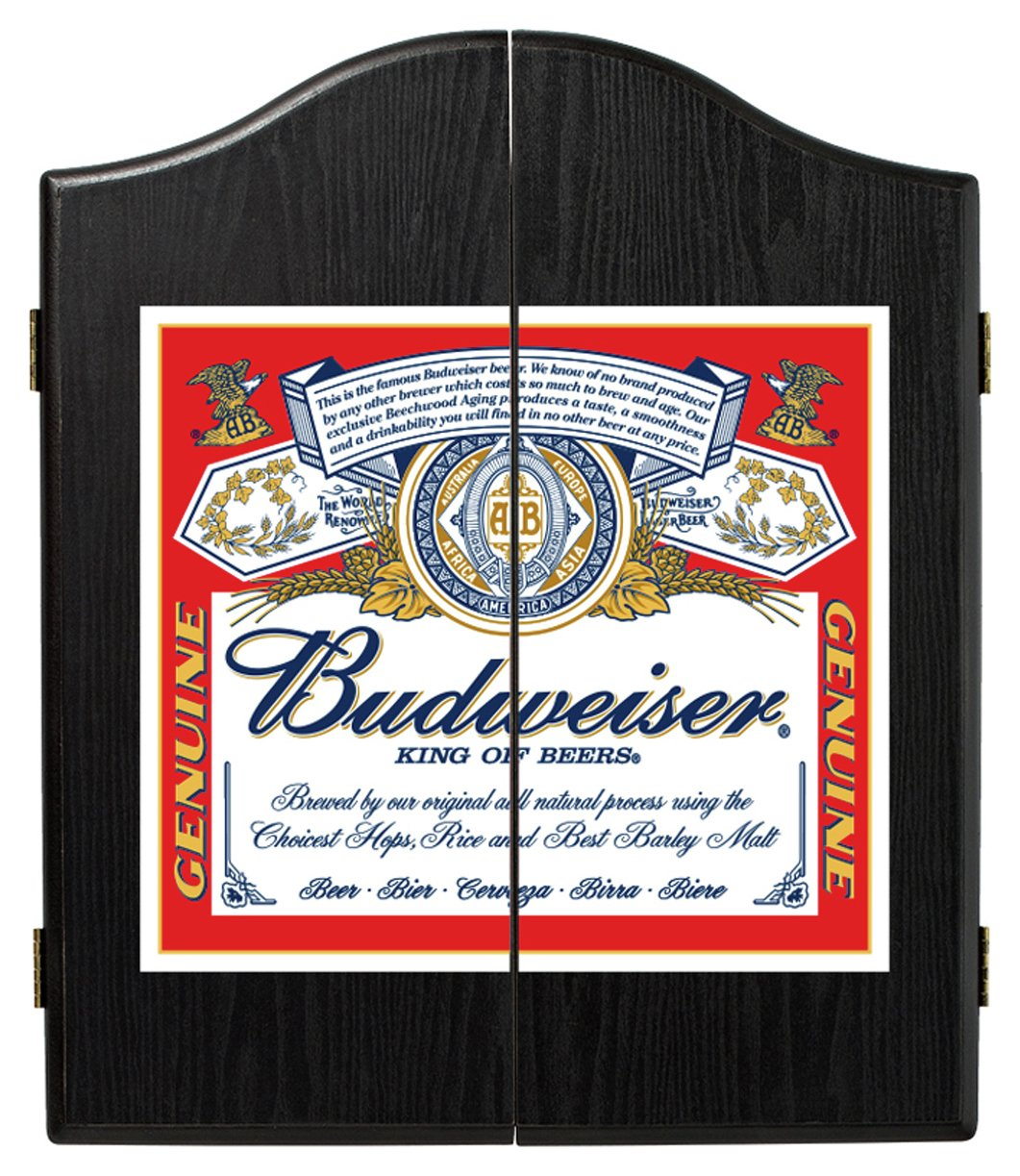 Winmau - Budweiser Label Dartboard Cabinet from Winmau