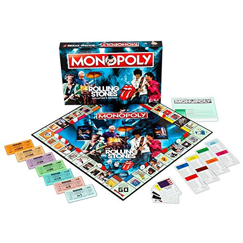 Winning Moves 032827 Monopoly, Rolling Stones from Winning Moves