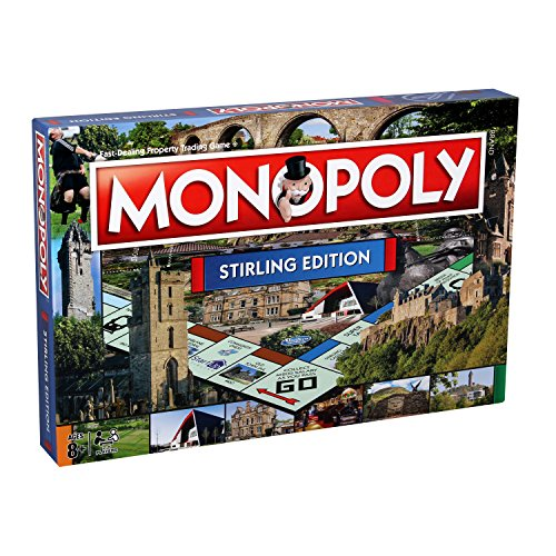 Stirling Monopoly Board Game from Winning Moves