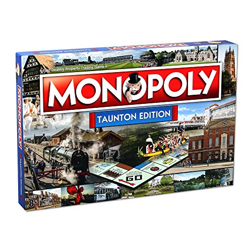 Taunton Monopoly Board Game from Winning Moves