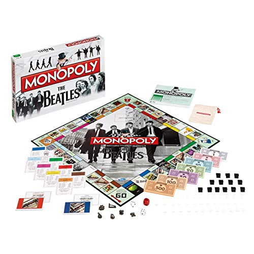 Winning Moves Beatles Monopoly, Multi Colour from Winning Moves