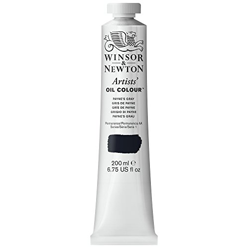 Winsor & Newton 200ml Artists Oil Colour Tube - Paynes Gray from Winsor & Newton