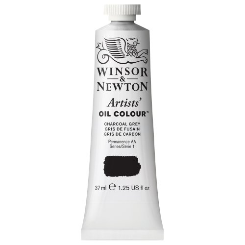 Winsor & Newton 37ml Artists' Oil Colour - Charcoal Grey from Winsor & Newton