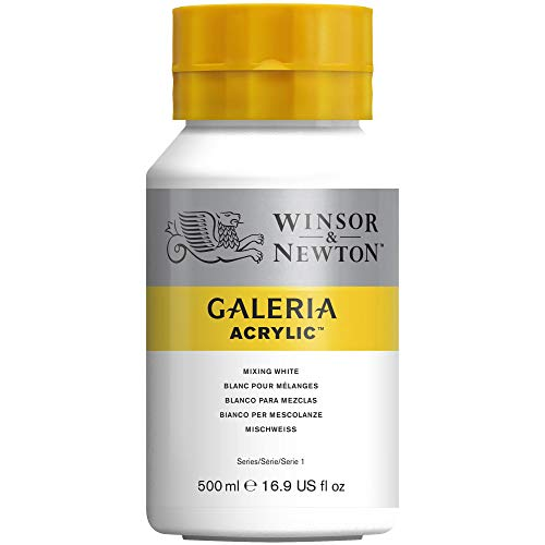Winsor & Newton 500ml Galeria Acrylic Paint - Mixing White from Winsor & Newton