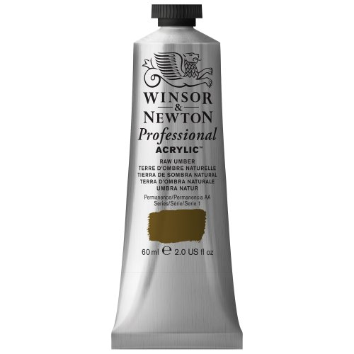 Winsor & Newton 60 ml Professional Acrylic Colour - Raw Umber from Winsor & Newton
