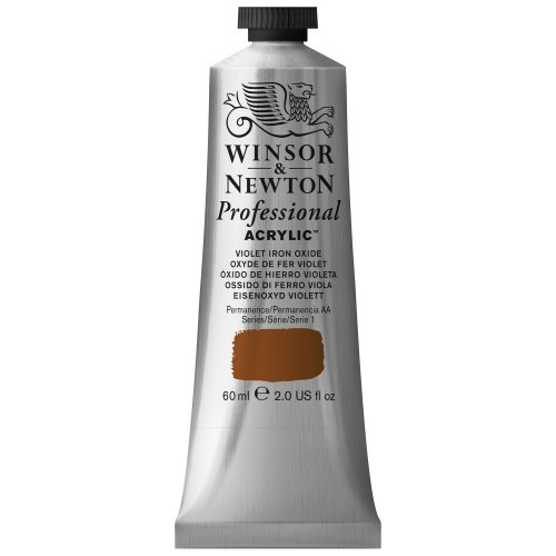 Winsor & Newton 60 ml Professional Acrylic Colour - Violet Iron Oxide from Winsor & Newton