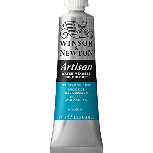 Winsor & Newton Artisan 200ml Water Mixable Oil Colour Tube, Cölinblau Farbton, 37ml Tube from Winsor & Newton